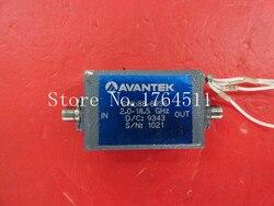 [BELLA] AVANTEK SWL88-6956 2-18,5 GHz 15 V SMA verstärker liefern