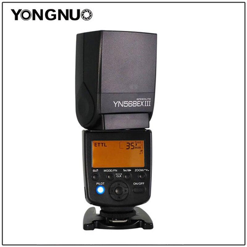 Yongnuo YN-568EX III YN568EX III TTL Master HSS Flash Speedlite for CANON 1100D1000D D4 D3x D700 For Nikon D5500 D5300 D5200 yongnuo yn685 yn 685 беспроводной доступ в эти speedlite флэш построить в ttl приемник работает с yn622c yn622ii c yn622c tx yn560iv yn560 tx