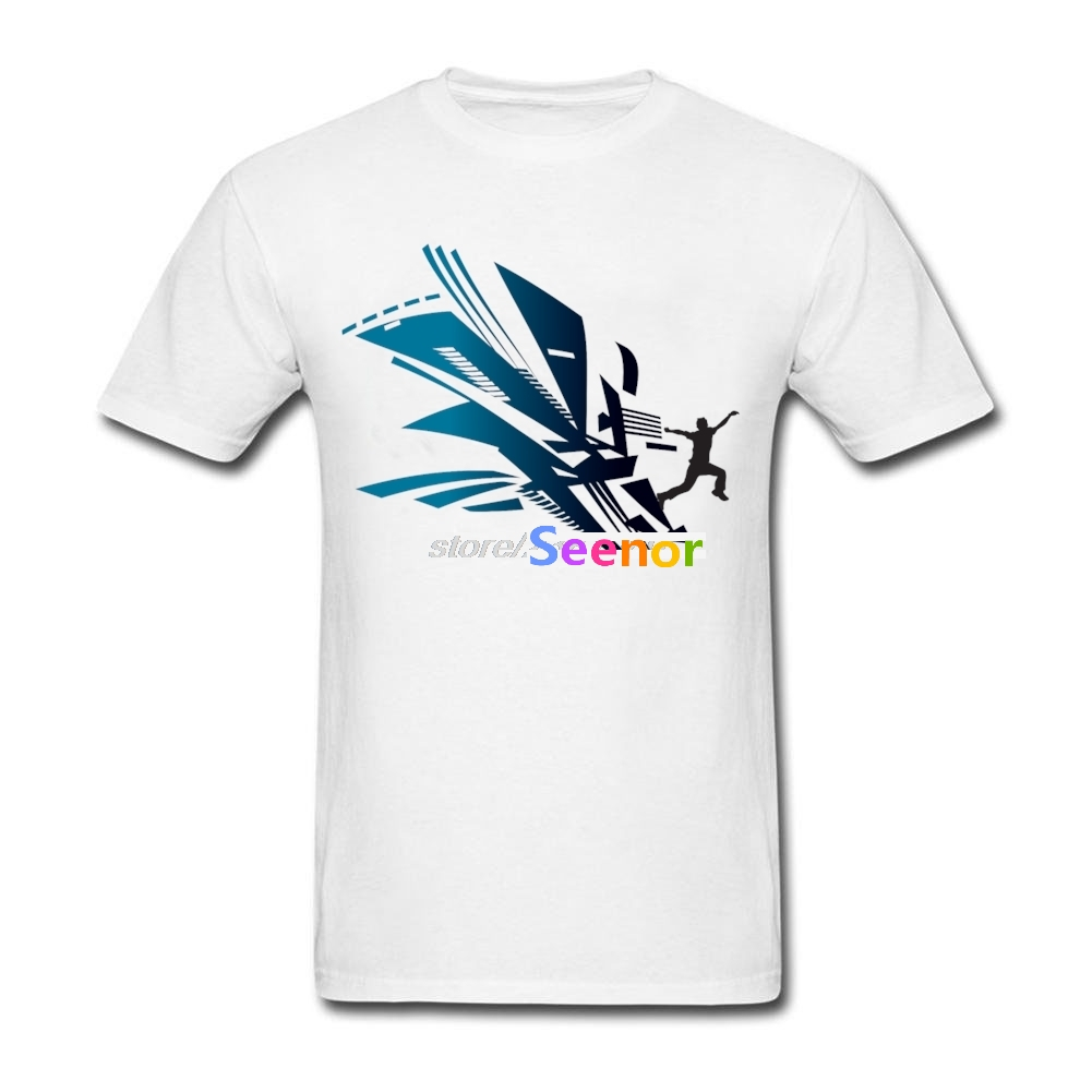 New Funny T Shirts For Sale Adult O Neck Parkour fashion T ...