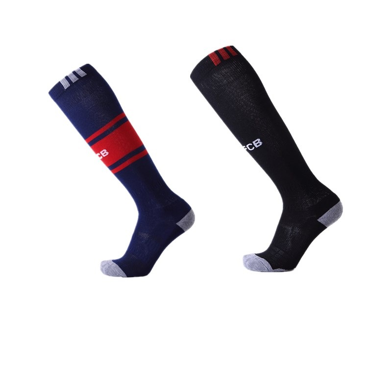 Men Women Professional Sports Soccer Socks Football Club deodorant Breathable Outdoor Knee High compression sock mj1815