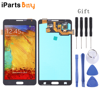 iPartsBuy LCD Screen and Digitizer Full Assembly (OLED Material ) for Galaxy Note 3, N9000 (3G), N9005 (3G/LTE)