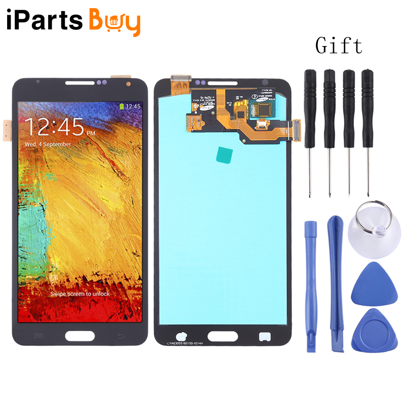 iPartsBuy <font><b>LCD</b></font> Screen and Digitizer Full Assembly (OLED Material ) for Galaxy Note 3, <font><b>N9000</b></font> (3G), N9005 (3G/LTE) image