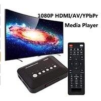 1080P HD Media player SD/MMC TV Videos SD MMC RMVB MP3 Multi TV USB HDMI Media Player Box Support USB Hard Disk drive