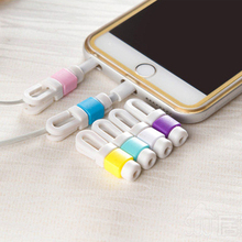 10pcs/lot USB Cable Data Line Earphone Line Protector Cover Saver Liberator For iPhone Links Headphone Cord free shipping