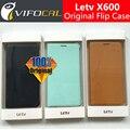 Letv x600 protetor capa case com interruptor salão 100% original oficial leather flip case para letv le 1 um telefone + livre grátis