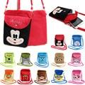 Comercio al por mayor de peluche solos bolsos de hombro para los niños de la manera 3D de dibujos animados lindo paquete de teléfono niñas niños Mensajero Del Bolso Del Monedero del regalo del bebé