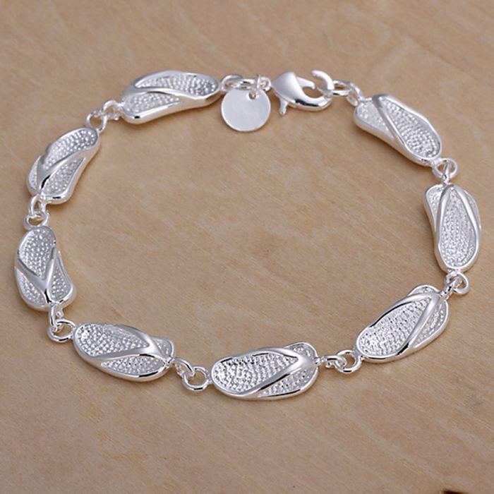 Bracelet Plated Silver Bracelet Fashion 925 Jewelry Silver ...