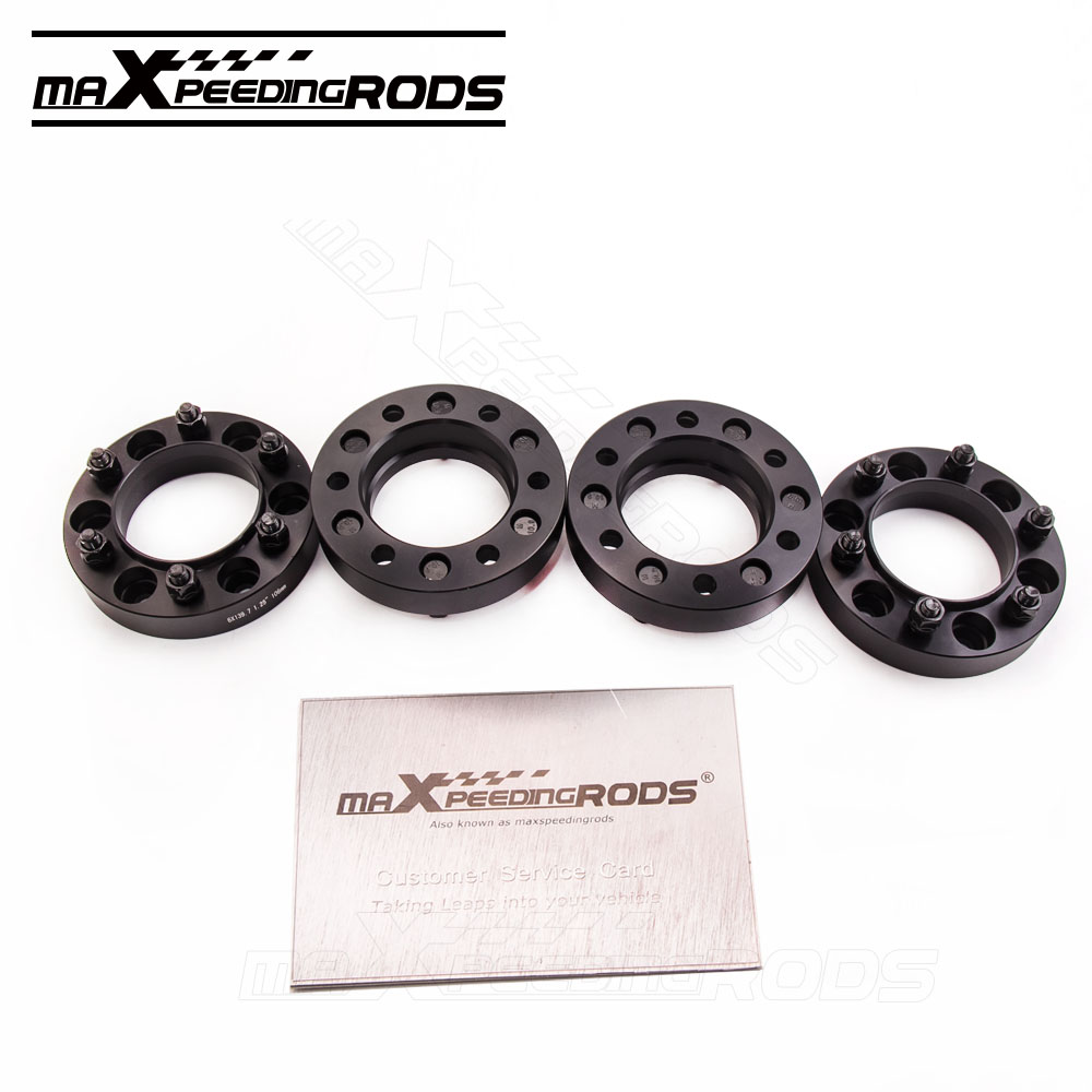 4PCS 6x139.7 32mm for Toyota Thick Hub Centric Wheel Spacers Tacoma Tundra 4-Runner 1996-2015 106 MM T6061 Billet Aluminum 1 pair car aluminum wheel spacer adapter hub flange 6 139 7 25mm for toyota prado2700 3400 4000 4500