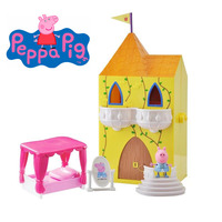 Genuine PEPPA PIG Princess Peppa's Enchanting Tower with Figure & Accessories BRAND NEW 2018 hot sale kids brithday toy gift