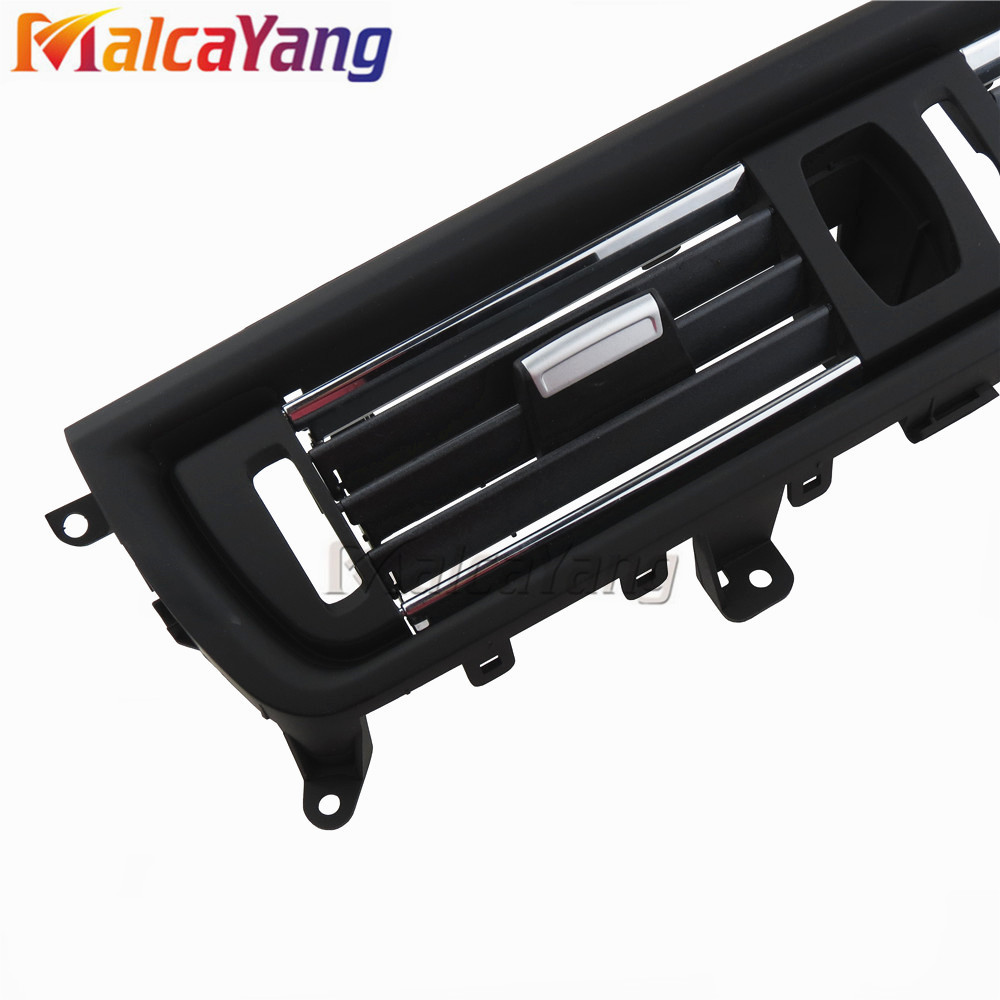 Image 4 - 2 Styles Front Console Grill Dash AC Air Conditioner Vent For BMW F10 F11 F18 520i 523i 525i 528i 535i .-in Air-conditioning Installation from Automobiles & Motorcycles