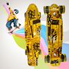 The New Small Fish Board Newspaper Series Of Banana Board Adult Four Wheel Slide Factory Direct