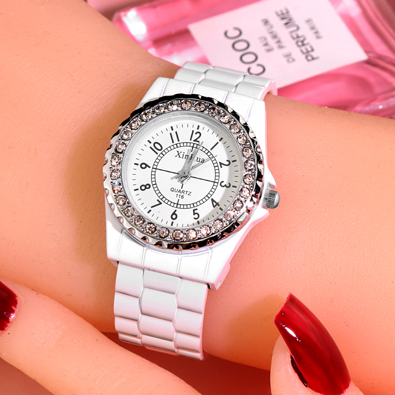 Women Watches Elegant Quartz Clock Luxury Crystal Bracelet Womens Watch relogio feminino Ladies reloj mujer montre
