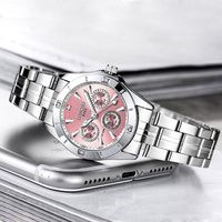 LONGBO Quartz Watch Women Watches Ladies Luxury Brand Stainless Steel Wristwatch For Female Clock Relogio Feminino