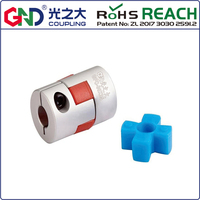 flexible coupling GFC Outer diameter: 95mm,Length: 126mm ; coupling aluminum alloy plum type clamping 888 GND BAND