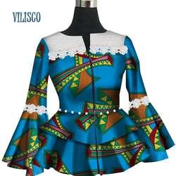 Модные индивидуальные кружевное платье с цветочным рисунком пальто с жемчугом Vestidos Высокая Талия Африканский воск печати пальто для Для