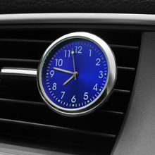 Car Ornament Automobiles Interior Decoration Clock Auto Watch Automotive Vents Clip Air Freshener Clock In Car Accessories Gifts