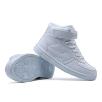 Kids Fashion Sports Light Shoes Children Casual Boys Girls Sneaker Fashion Pu Leather Shoes Anti Slippery