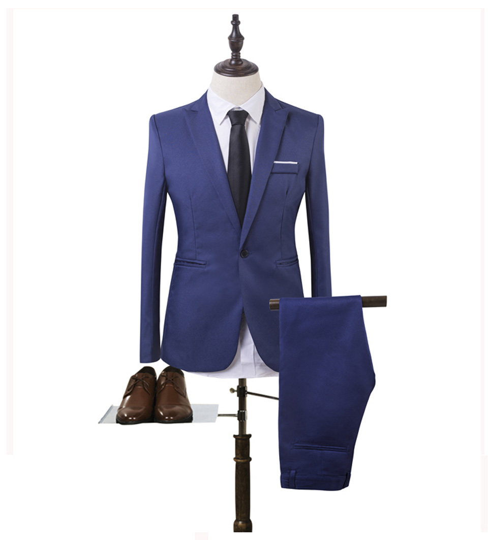 Luxury Men Wedding Suit Male Blazers Slim Fit Suits For Men Costume Business (5)