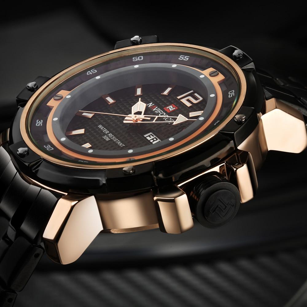 Prix pour 2016 Nouvelle Marque De Mode Hommes Sport Montres Hommes de Quartz Heure Date Horloge Homme Acier Inoxydable Militaire Armée Étanche Poignet montre