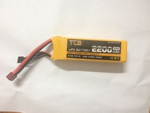 TCB RC lipo battery 11.1v 2200mAh for RC airplane