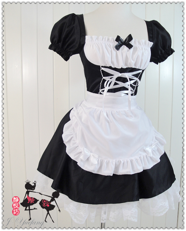 Платье горничная
