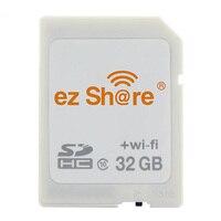 Wifi Sd карта Sdhc Sdxc карта памяти 8 г 16 г 32 г C10 ez Share беспроводной WiFi TF Micro SD для SD адаптер Поддержка 8 ГБ 16 ГБ 32 ГБ TF Карта