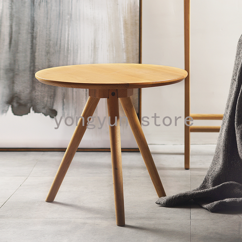 Peachy Us 278 0 Small Tea Table Wooden Sofa Craft Table Minimalist Modern Living Room Furniture Coffee Table Ash Wood Round Side Table In Coffee Tables Caraccident5 Cool Chair Designs And Ideas Caraccident5Info