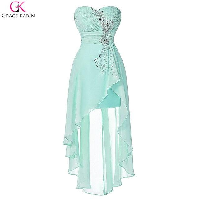 Grace karin brautjungfernkleider türkis bridemaid kleider rosa kurze ...