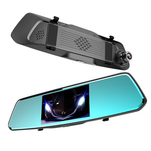 Image 2 - AOSHIKE 5.0 Inch IPS High Definition Screen Front And Rear HD 1080P Dual Lens Driving Recorder Car DVR Night Vision Dual lens