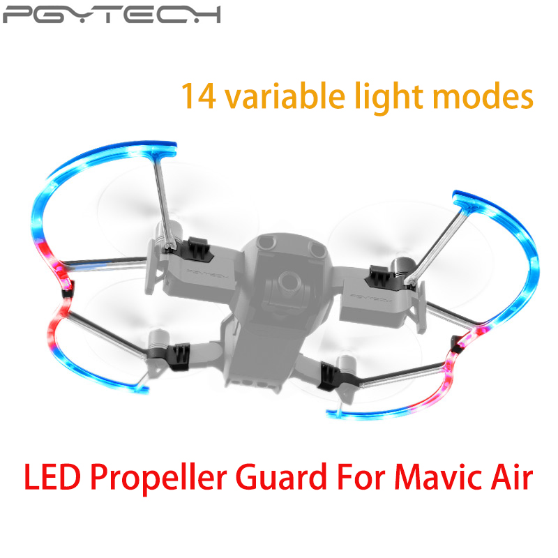 2d1170cc7ab PGYTECH Mavic Air Propeller Protector Guards Accessories with 14 Lighting  Mode Colorful LED for Dji Mavic Air drone -in Prop Protector from Consumer  ...