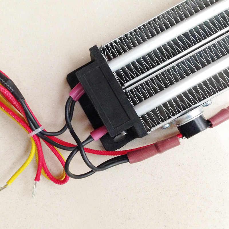 PTC керамический воздушный Нагреватель Электрический нагреватель 1000 Вт AC DC 220 В 230*50 мм