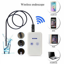 Big discount HD 2.0MP USB Endoscope With WIFI Box  Inspection Snake Camera 6 LED 9mm Lens  Android IOS Wifi Endoscope