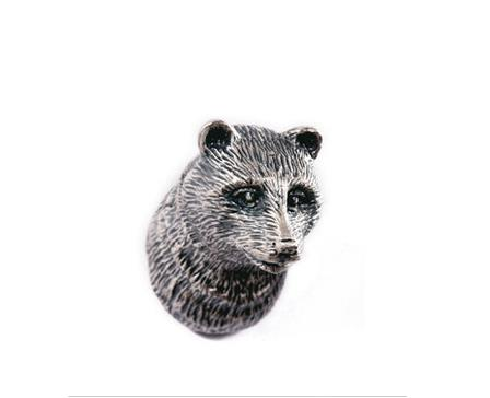 цена  Antique Sliver Bear design Drawer  Handles Kitchen Cabinet Door Pull Handle / Furniture Knob Hardware  онлайн в 2017 году