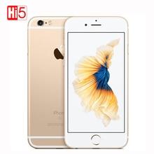 """Déverrouillé Apple iPhone 6 S/6 S Plus 12.0MP Caméra Dual Core 2 GB RAM 16/64/128 GB ROM 4.7 """"et 5.5"""" 4 K Vidéo iOS 9 LTE Utilisé téléphones Cellulaires"""