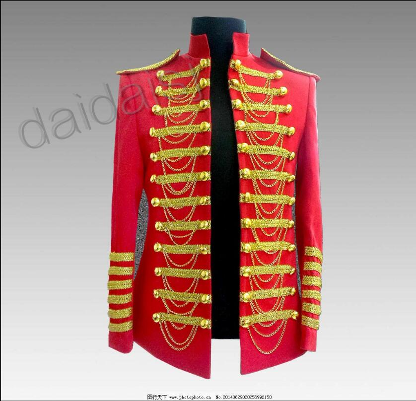 S-5XL New Men's Red Phnom Penh Blazers Jackets Men Singer Stage Costumes Night Bar Performance Formal Dress Plus Size Clothing