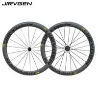2018 Top Sale new 50mm Carbon Wheels 3k Twill Weave Bike Wheelset 700C Made in china Carbon Road Bike Clincher Wheels
