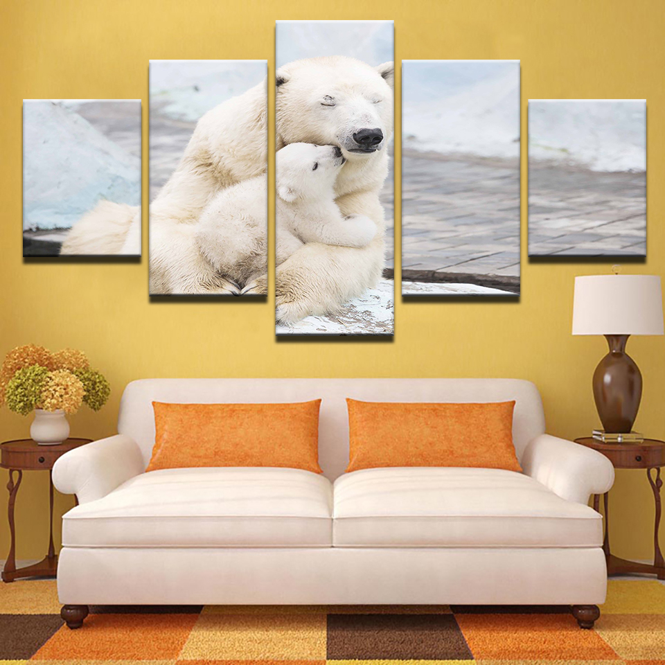 Modular Pictures Home Decor Wall Art Modern Poster HD Printed 5 ...