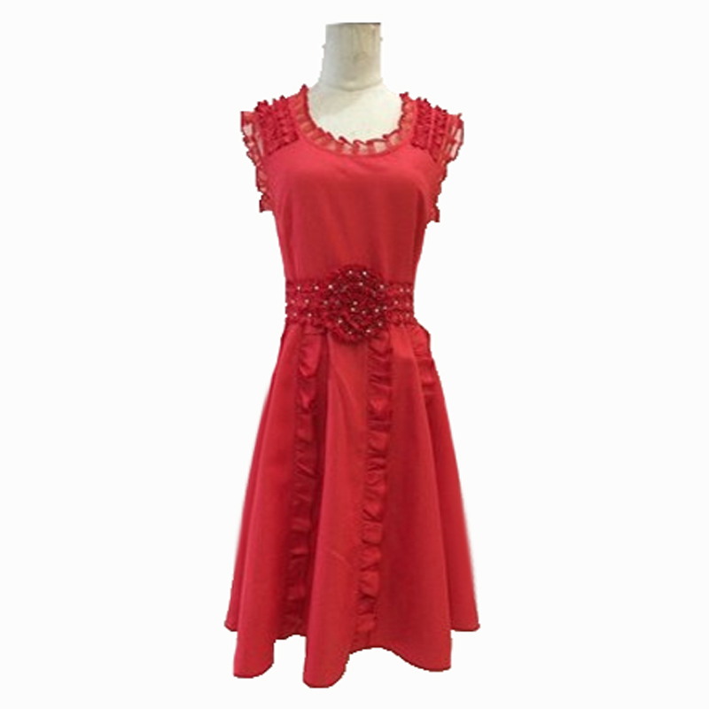 Costume Halloween Hermione.Us 77 9 The Deathly Hallows Hermione Granger Red Sleeveless Dresses Cosplay Costume Halloween Party Dress For Woman Girls Christmas Gift In Anime