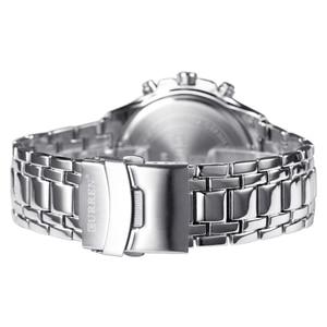 Image 5 - CURREN Fashion Business Men zegarki analogowy zegarek sportowy pełny stalowy wodoodporny zegarek na rękę dla mężczyzn relogio masculino męski zegar