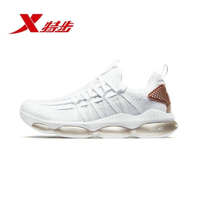 882418119538 XTEP Женские Кроссовки Flywire One-wove легкие Женские спортивные туфли Спортивная обувь для женщин