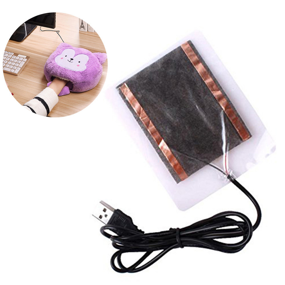 5v Usb Heating Plate Heater For Diy Hand Warm Mouse Pad