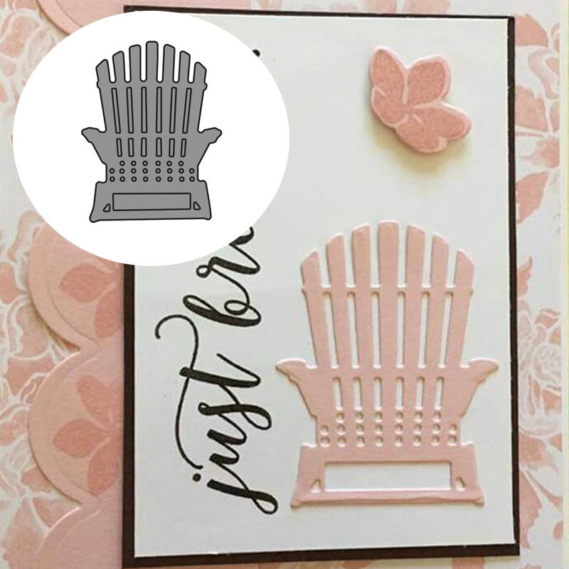 Beach Chair Metal Cutting Dies Stencils For DIY Scrapbooking Decor Embossing Suit Paper Cards Die Cutting Template NEW 2019