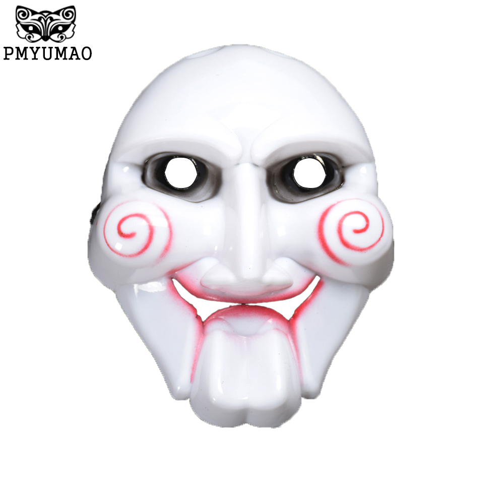 PMYUMAO Saw Movie Theme Mask Terror of the murder Halloween masks ...