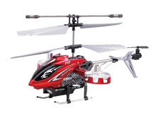 New Version4CH 4 Channnel IR 2 4Ghz Remote Control Mini Metal RC Helicopter LED Light w
