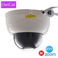 OWLCAT SONY322 1080P 2MP Full HD Indoor IR Dome IP Camera PTZ 3X ZOOM AUTO FOCUS