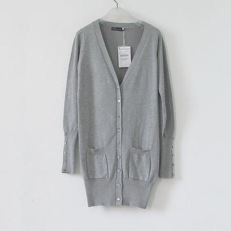Nova moda das mulheres da Primavera Cardigan CandyColor camisola de malha camisola botão shell V-neck de malha das senhoras camisola