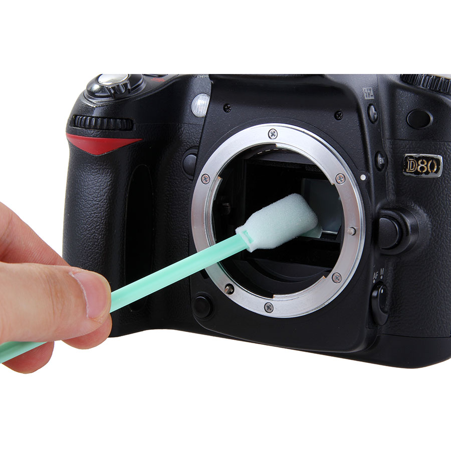 Раскладной штатив для фотоаппарата касается или