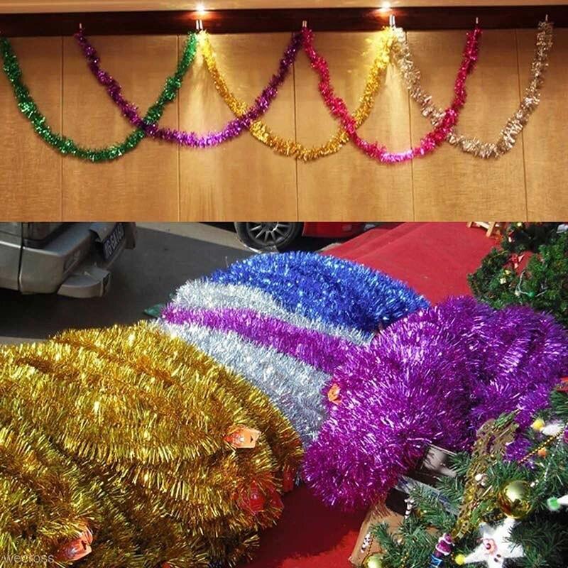 Sale On Christmas Tree Decorations: Hot Sale 3pcs Ribbon Garland Christmas Tree Wedding Party