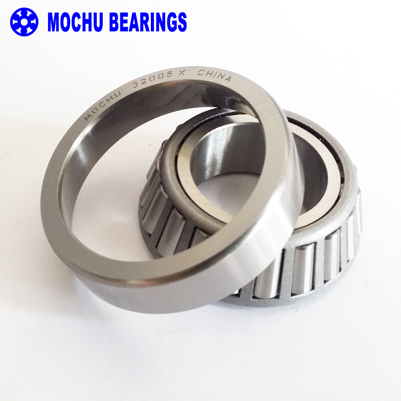 1pcs Bearing 32005 X 25x47x15 32005-X 32005X/Q 2007105 E Cone + Cup MOCHU High Quality Single Row Tapered Roller Bearings mochu 22213 22213ca 22213ca w33 65x120x31 53513 53513hk spherical roller bearings self aligning cylindrical bore