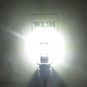 Image 2 - WLJH 2x DC12V  24V High Power White 3570 CSP Chip H3 LED Replacement Bulbs For Car Fog Lights, Daytime Running Lights, DRL Lamps